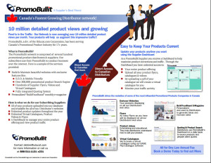 PromoBullit Supplier Subscription (Annual) - Supplier Subscriptions
